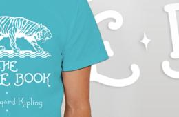 T-Shirts : Jungle Book & Life Of Pi
