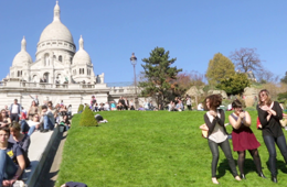 Clip : Happy… from Montmartre !