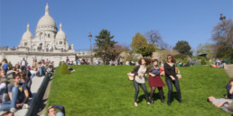 Happy from Montmartre